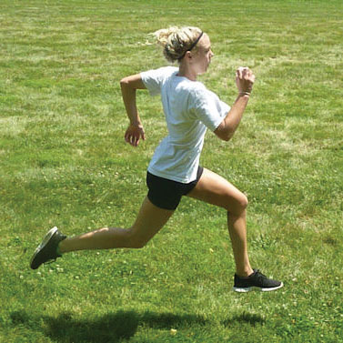running female